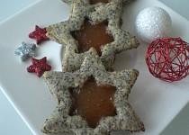 Mandlovo-makové hvězdičky