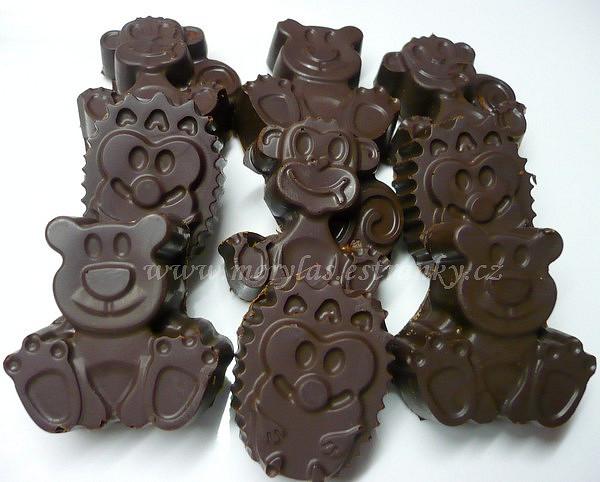 Pralinky pro menší děti s ořechovou náplní