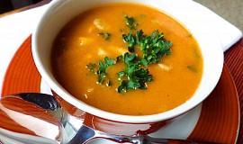 Polévka z hlívy ústřičné  à la dršťková