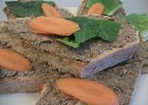 Pomazánka ze sušených hub (vegan)