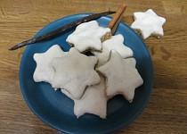 Skořicové hvězdy s vanilkou