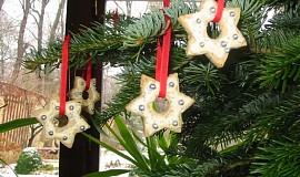 Vánoční mandlové hvězdičky