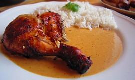 Indické pečené kuře