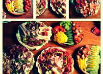 Jednoduché domácí obložené talíře