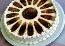 Kávový bezlepkový dort s rumem