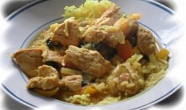 Krůtí kari (curry)