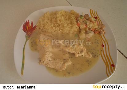 Kuřecí prsíčka s omáčkou z tykvových semínek