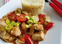 Kuřecí se zeleninou a bulgurem