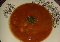 Lahodná polévka z párků