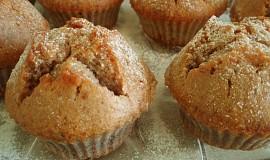 Muffiny s ořechy a čokoládou