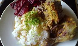 """Pečené kuře s nádivkou dle hajného ze """"Šlajfu"""""""