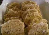 Pohankovo-kukuřičné kynuté knedlíky