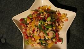 Salát sedmi barev