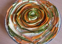 Slaný koláč z cuket a mrkve