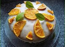 """""""Sluníčkový"""" pomerančový dort"""