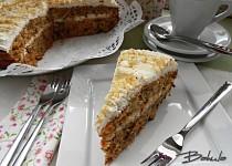 Velikonoční mrkvový dort II.