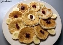 Banánové lívanečky bez lepku, mléka a vajec