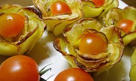 Bramborovo-sýrové růžičky
