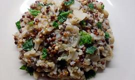 Čirok se zelím a rýží