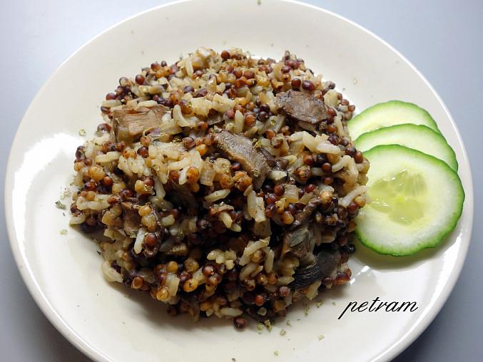 Čirokovo-rýžový kuba