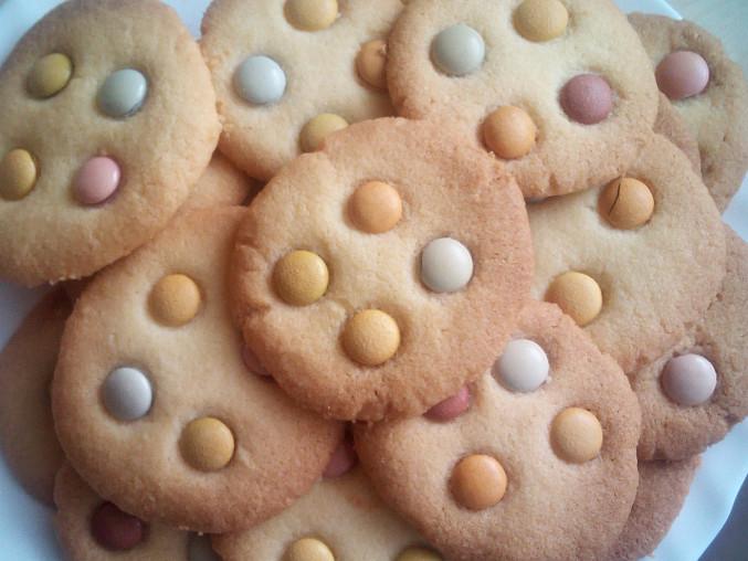 Club sušenky, s lentilkami pro děti