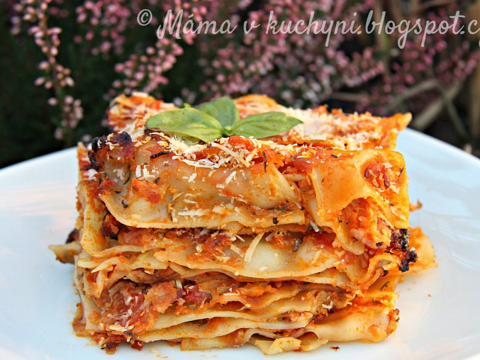 Dýňovo-cuketové lasagne