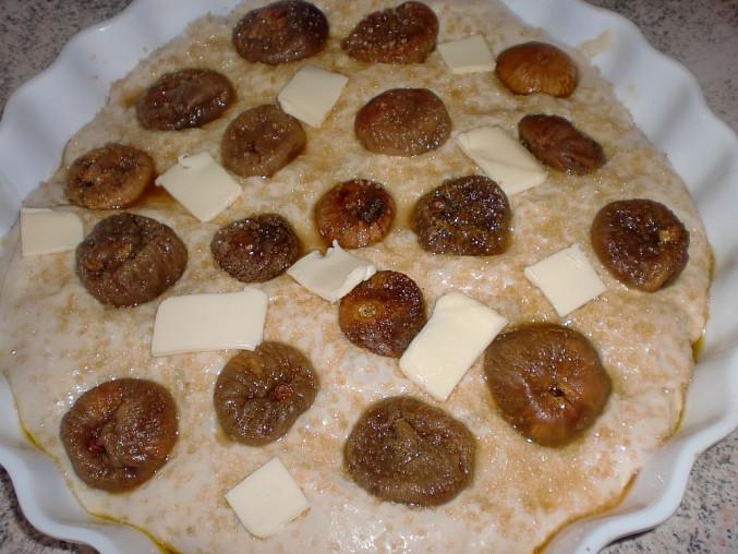 Italský sladký chléb s fíky (Pane dolce con fichi)