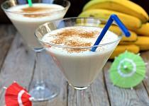 Kokosovo banánový koktejl