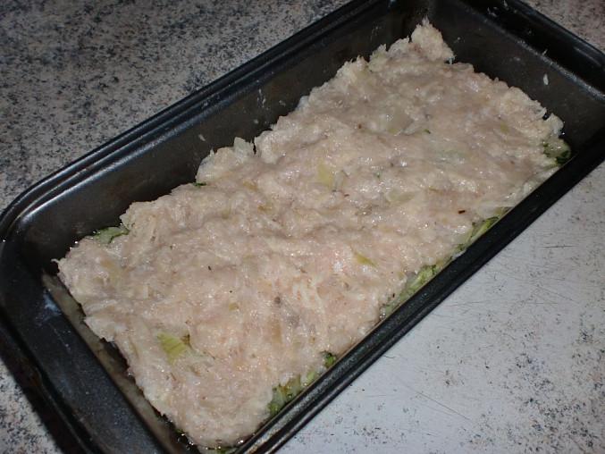 Kuřecí trikolora, Druhá vrstva se sýrem