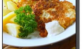Květákové smaženky se sýrem