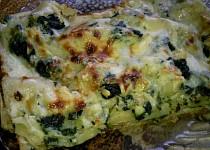 Lasagne s medvědím česnekem, kopřivami a nivou