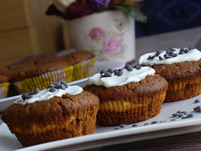 Margotkové muffiny s tvarohem