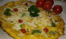 Omeleta s gnocchi a Nivou
