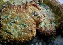 Quinoa placičky se špenátem