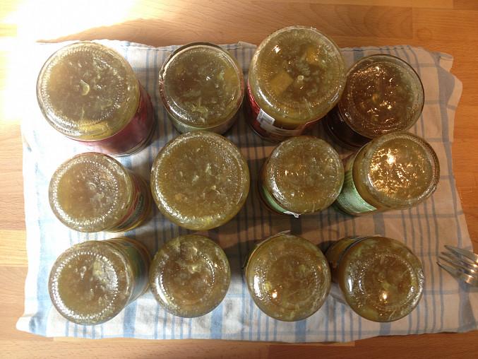 Rebarborový džem se zázvorem, Rebarborový džem se zázvorem