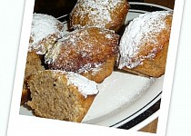 Rychlé oříškové muffiny