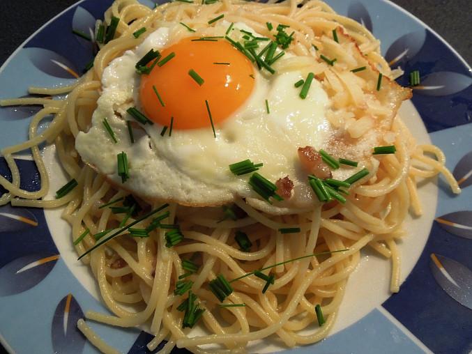 Slaninové špagety
