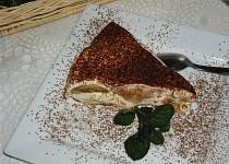 Smetanovo-kávový dortík