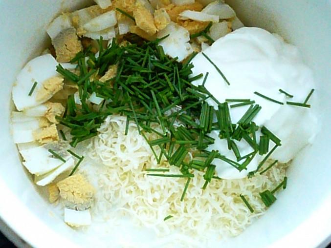 Sýrová pomazánka s jogurtem