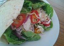 Tortilla s Hermelínem a česnekovou majonézou
