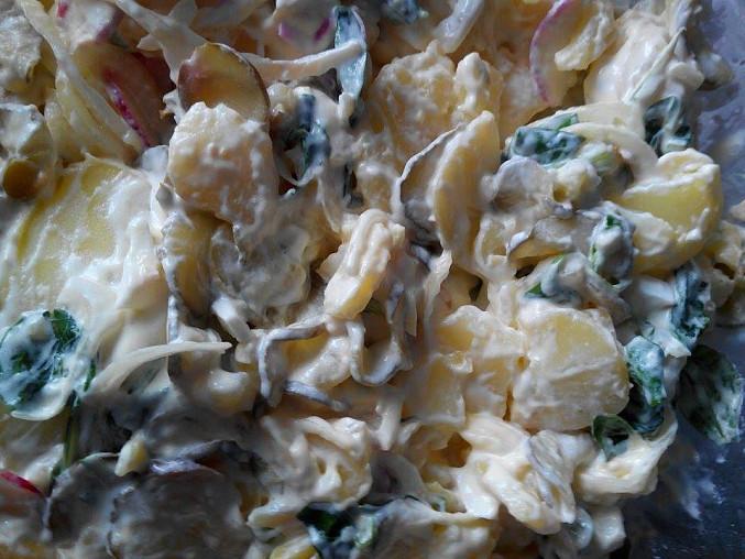Bramborový salát netradičně