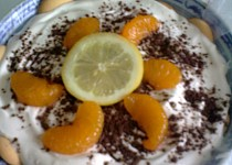 Citrusové tiramisu