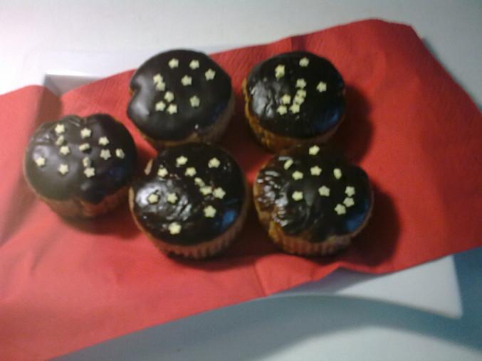 Čokoládové muffiny..., Čokoládové muffiny