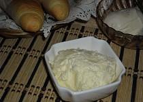 Domácí rychlé máslo