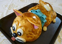 Dort kočka pro vnučku Natálku