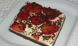 Jahodový koláček