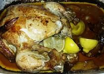 Kuře s bylinkovo-citronovou příchutí