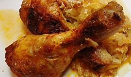 Kuře v zelném pekáčku