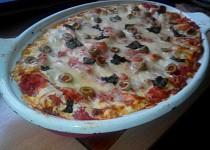 Lasagne s makrelou, ricottou, špenátem a rajčaty