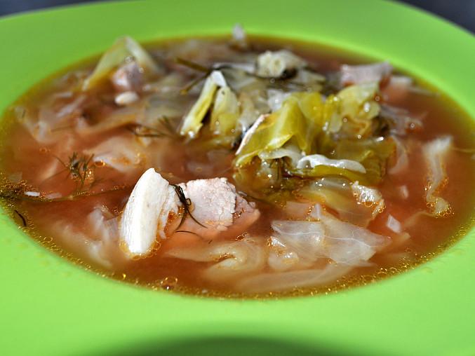 Letní Ružínská polévka